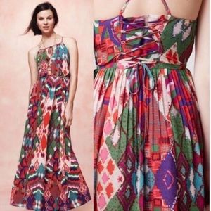 Anthropologie Maeve Tarana maxi dress